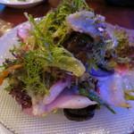 フィッシュハウスオイスターバー - 鎌倉より季節野菜のガーデングリーンサラダ(¥1,240−)