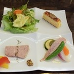 肉料理 黒麒麟 - 前菜4品