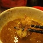 まんねんカレー - 全部のせカレーつけ麺(とろ肉)