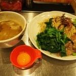 まんねんカレー - 全部のせカレーつけ麺