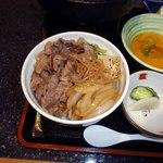 東堀 佐々木 - 贅沢な牛丼