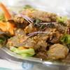 ジダパ デラックス - 料理写真:ヤムサマサラダ