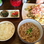 首里製麺 - 「首里定食」1000円