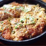 とんかつレストラントンキー - 料理写真:ヒレカツ煮定食