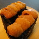 月 - 料理写真:網走産 バフンウニ 630円