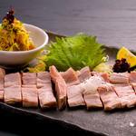 豚料理専門店 銀呈 - ヘレ肉新鮮前菜盛