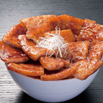 豚料理専門店 銀呈 - ばら肉の豚丼