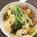 黄河楼 - 冷やし麻婆豆腐中華