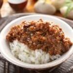台灣肉みそご飯