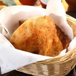 ネギ入り薄焼きパン