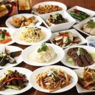 台湾料理を味わい尽くす!「食べ飲み放題」など3コースをご用意