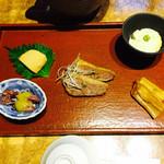 38207560 - 豆腐の味噌漬け。鴨、穴子、ホタルイカ。豆腐。