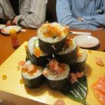 38208528 - こぼれ巻き寿司