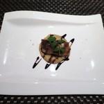 アルモニコ - メジナのソテー、桜エビとパン粉で