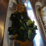 カトマンド・カフェ - ホウレン草の油炒め
