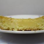 シャトレーゼ - ベイクドチーズケーキの断面