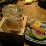 robatahyoutan - 日本酒も種類豊富。秋田の『雪の茅舎』が美味しかった!