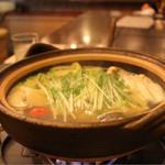 焼きハマグリ新三郎 - しゃぶしゃぶとお野菜