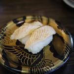 江戸前回転寿司えびす - サーモン炙り~☆