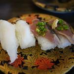 江戸前回転寿司えびす - えんがわ・かつお~☆