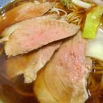 小諸そば - 鴨南蛮(590円)