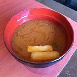とんかつ 濵かつ - 赤味噌汁