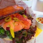 Mercurius - Bagel & smoked salmon