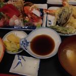 ともえ - お好み定食1,730円 150109 17:58