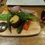 38216138 - 焼き野菜の盛り合わせ