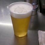 鳥勇 - 生ビール