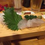 満々気 - 鯛のお刺身