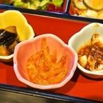 中国料理 青冥 - スペシャル定食(小菜三種)
