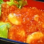 中国料理 青冥 - スペシャル定食(海老のチリソース煮)