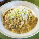 吉華 - 少子麺(四川風田舎やきそば) 単品だと1350円