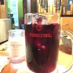 鳥貴族  - ワインに氷を入れて。