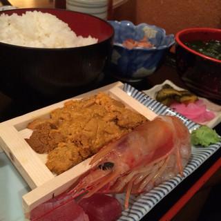 三橋屋 - 刺身定食880円