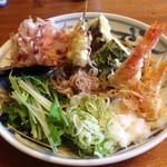 蕎ノ字 - 季節の天おろしそば  1650円