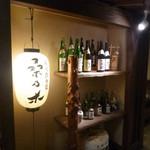 桑乃木 - 店内/日本酒が並ぶ