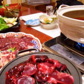 【冬の名物!】鴨料理…2500~12,000円