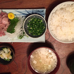 乃ざき - 料理写真:中落ち定食900円税別