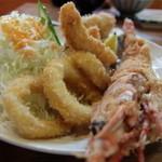味の食彩館 - 海老・イカ・鯵・牡蠣
