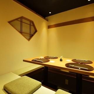 大人気の個室ご利用は、早めのご予約を!