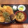 三惚 - 料理写真:タマメロにゃん天丼