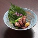 年中万菜録 月うさぎ - ホタルイカのぬた和え¥550