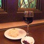 人間関係 cafe de copain - 赤ワインとスコーン