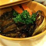自然派イタリアン E's Cafe Mira-clue - スダチ牛の赤ワイン煮込み、季節の野菜のローストと