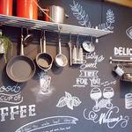 炭火イタリアンAzzurro520+カフェ - 外のディスプレイ