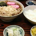 そば処かわ本 - そば定食 600円