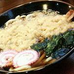 そば処かわ本 - 天ぷらうどん 650円