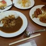 犬山ローレライ麦酒館 - カレーはまぁまぁ美味しいかな。